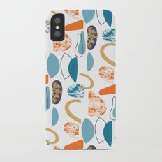 Abstract Pebbles iPhone X Slim Case