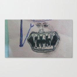 Hi and Hello Canvas Print