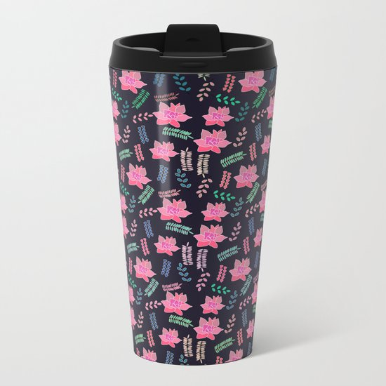 Little blossom Metal Travel Mug