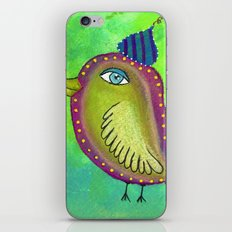 Quirky Bird 4 iPhone & iPod Skin