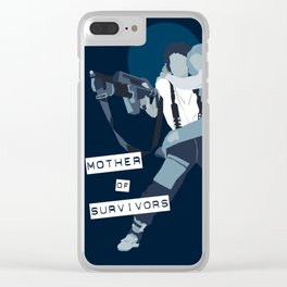 Mother of survivors Clear iPhone Case