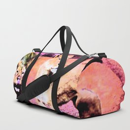 Lounging Lions Duffle Bag
