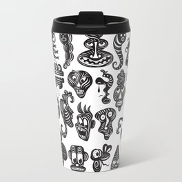 monsterheadz menagerie  Travel Mug