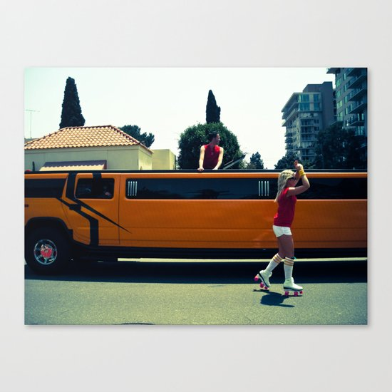 O Rollers Canvas Print