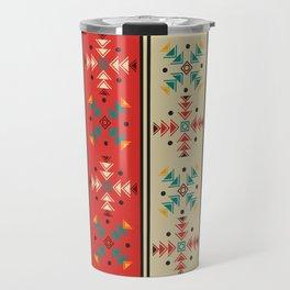 Navajo style pattern Travel Mug