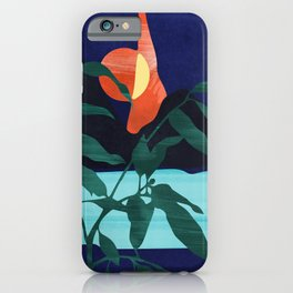Darkness Mountains and the Moon #art print#society6 iPhone Case