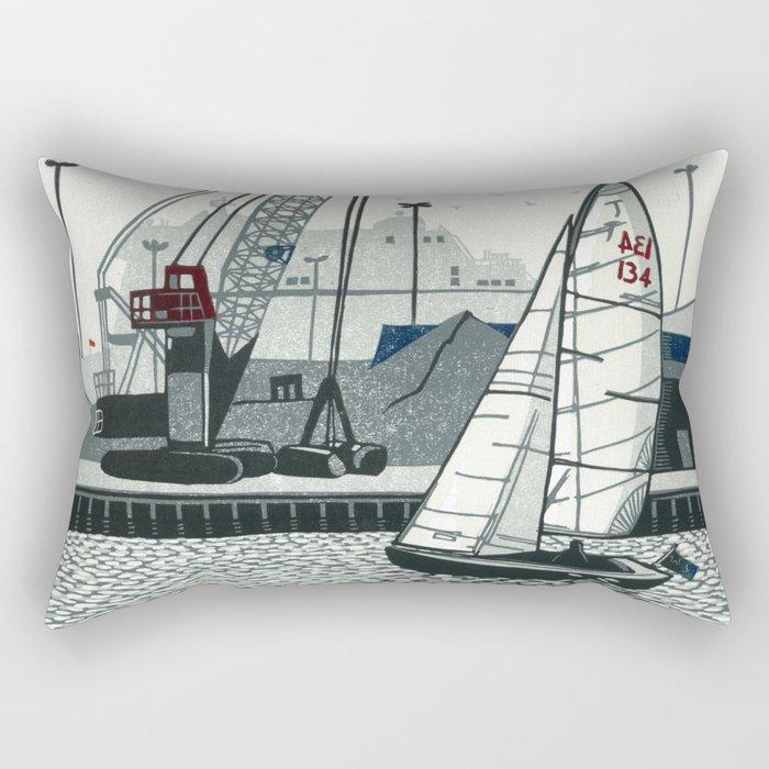 Poole Quay Rectangular Pillow