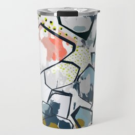 Ava Abstract Print Travel Mug