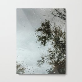 Steady Drizzle Metal Print