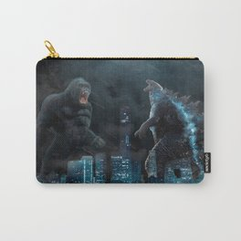 Godzilla vs Kong in the moonlight Carry-All Pouch