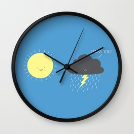 I miss you! Wall Clock