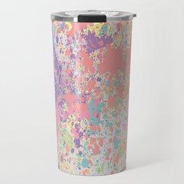 Pastel Colors Travel Mug