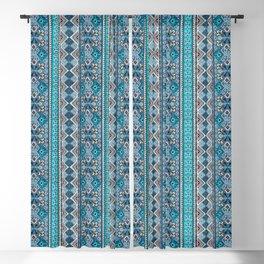 Grand Bazaar - Blue Blackout Curtain