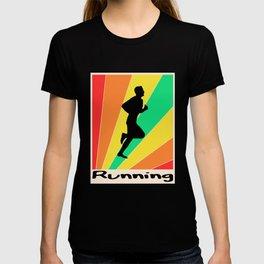 Running poster Running T-shirt