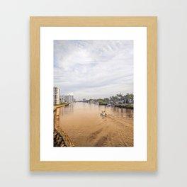 Intracoastal Framed Art Print