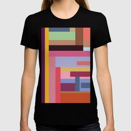 Color rods T-shirt