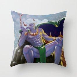 Taurus - Zodiac King Throw Pillow