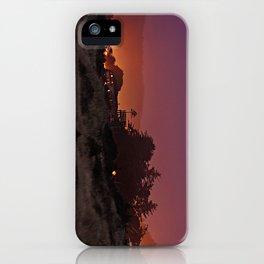 Gold Beach At Night iPhone Case