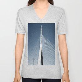 Zakim Bridge Unisex V-Neck