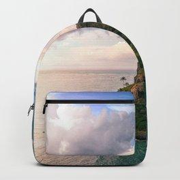 Hawaii's Uninhabited Island - Chinaman's Hat Backpack