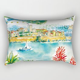 Antibes remparts Rectangular Pillow