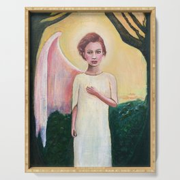 Broken Angel Serving Tray