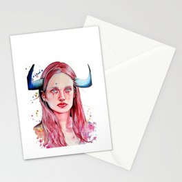 The Taurus Stationery Cards