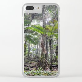 The Sierra Palm cloud forest - El Yunque rainforest PR Clear iPhone Case