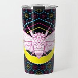 Geometric Cicada Travel Mug