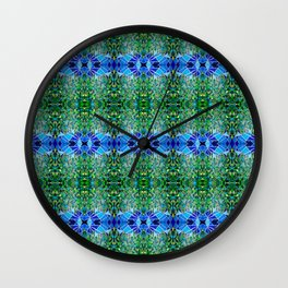 Fractured Forest Wall Clock