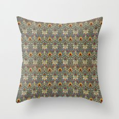 Snakeshead design Throw Pillow