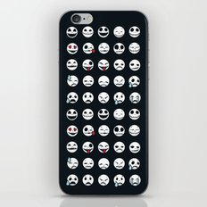 Jack's Emoticons iPhone & iPod Skin