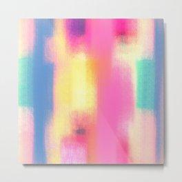 Phresh Pink Metal Print