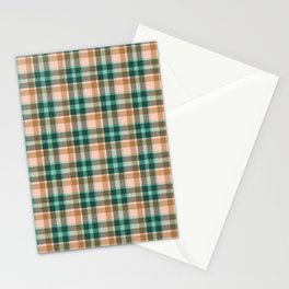Celtic plaid forest Stationery Cards
