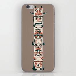 TOTEM POLE iPhone Skin