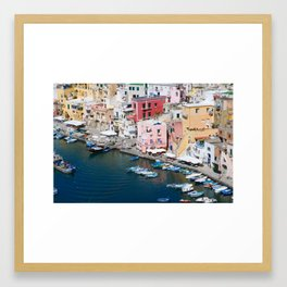 Procida Island, Italy Framed Art Print