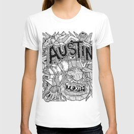 Geometric Mutations: Austin, TX T-shirt