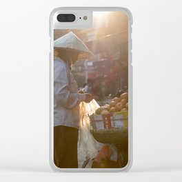 Vietnam Streets Clear iPhone Case