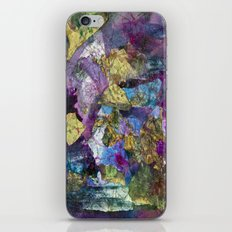 Drizzle Painting  iPhone & iPod Skin