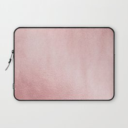 Simply Rose Gold Sunset Laptop Sleeve