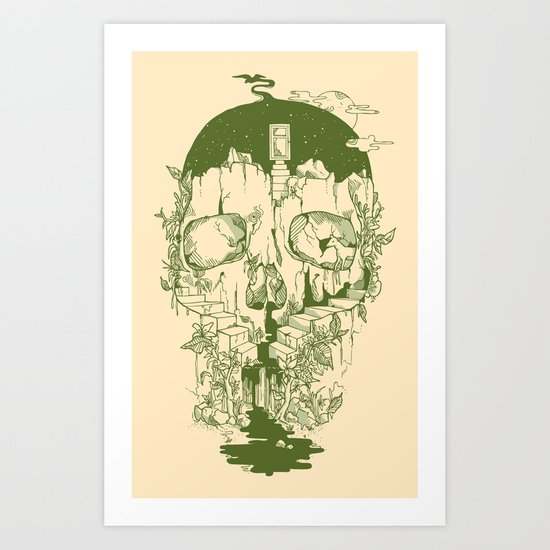 Inside My Head Art Print