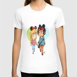 Date at Disneyland T-shirt