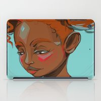 child iPad Cases featuring child by keiadnae