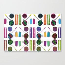 Stoned Kit Canvas Print