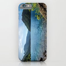 Lake Crescent Olympic Mountain Pano iPhone 6s Slim Case