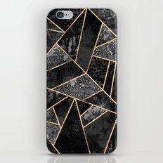 Black Stone 2 iPhone Skin