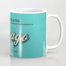 Vintage Chicago Coffee Mug