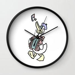 The Chanson of Lord O'Ganson Wall Clock