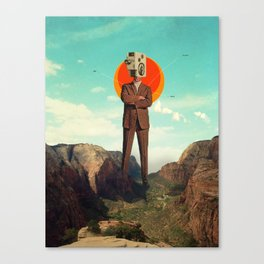 Video404 Canvas Print