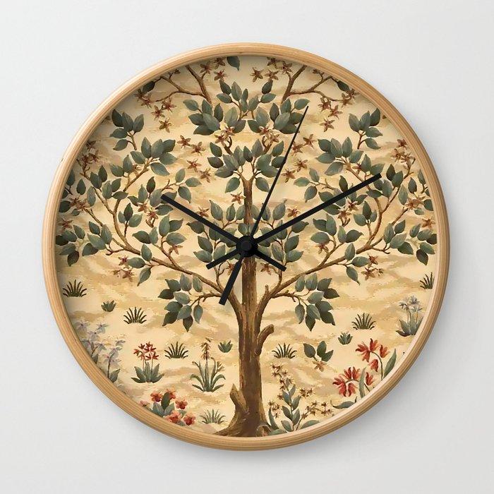 "William Morris ""Tree of life"" 3. Wall Clock"